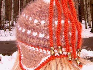 Акция!!! – скидка 70%  на комплект  «ЗЕНА» авторской ручной работы --- шапку женскую вязаную, шарф ,митенки !. Ярмарка Мастеров - ручная работа, handmade.