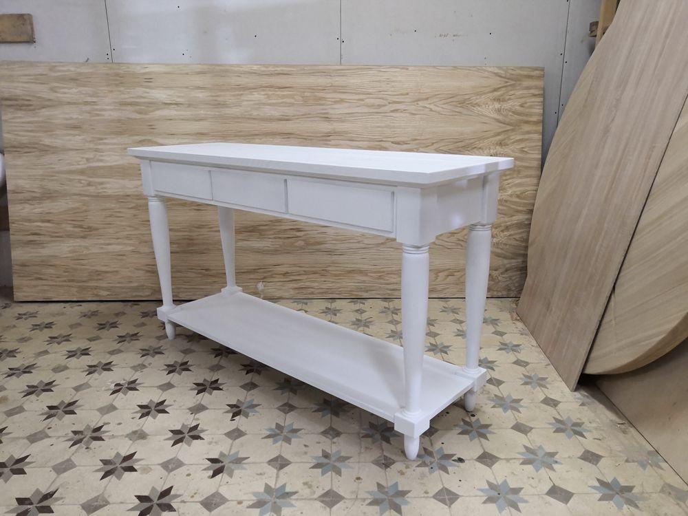 консольный столик, из ясеня
