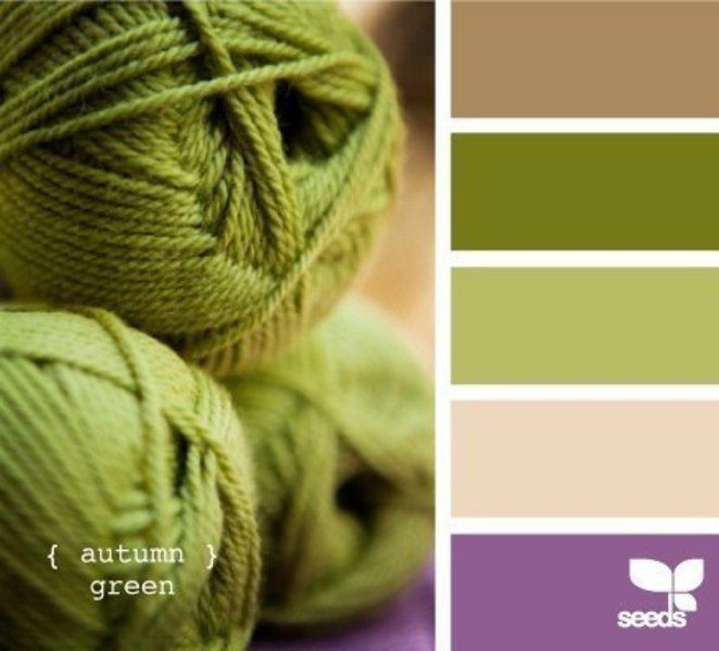 сочетание цветов, пряжа для вязания