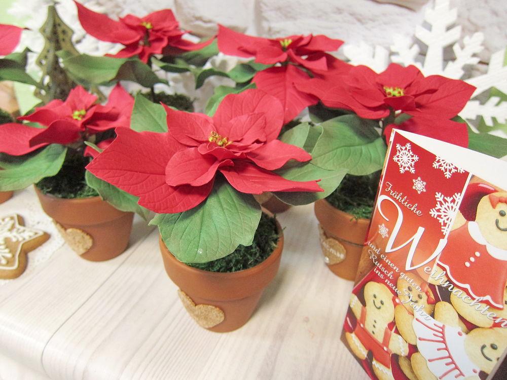 цветы из фома, новогодний декор