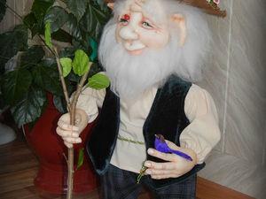 Мой краткий обзор по созданию куклы Гном Старичок Лесовичок. Ярмарка Мастеров - ручная работа, handmade.