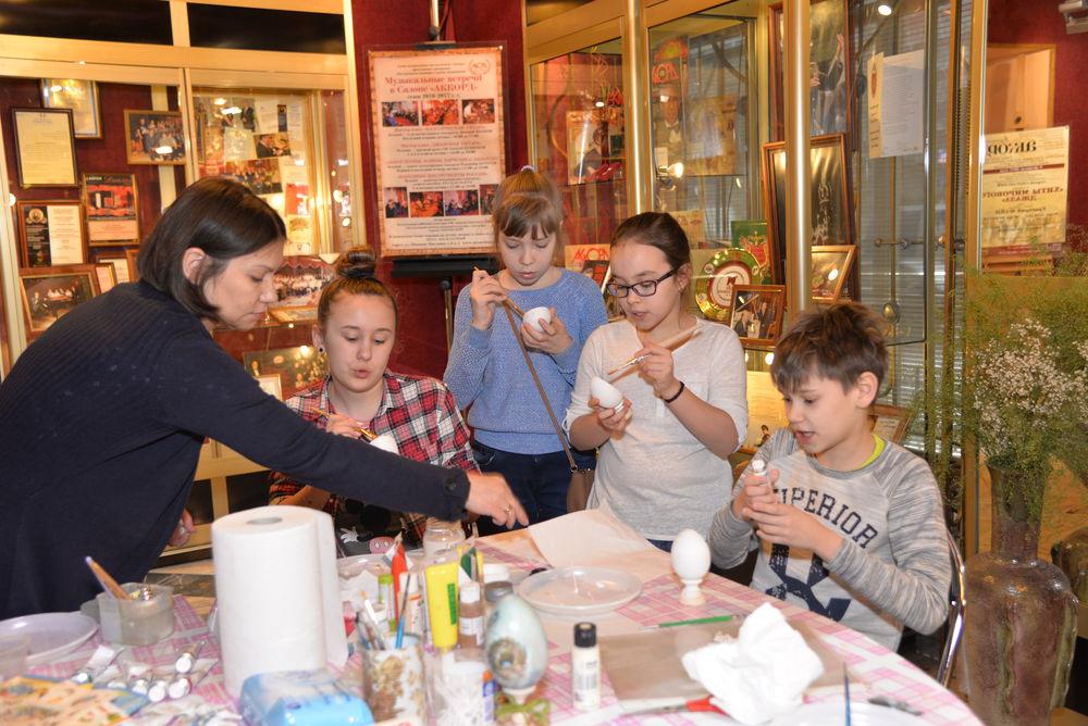 мастер-класс для детей, детское развитие, пасхальный сувенир