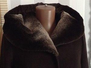 Аукцион на зимнее пальто с натуральным мехом. Ярмарка Мастеров - ручная работа, handmade.