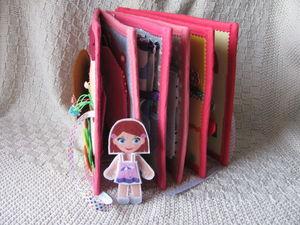 Книжка кукольный домик. Ярмарка Мастеров - ручная работа, handmade.