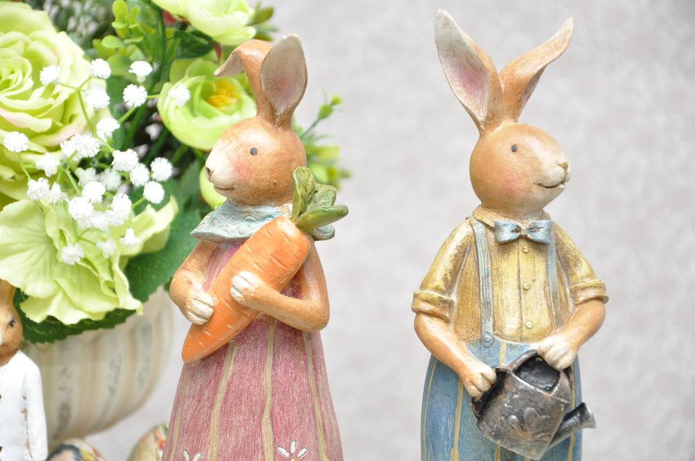пасхальный сувенир, пасхальный кролик, реквизит для фотосессии