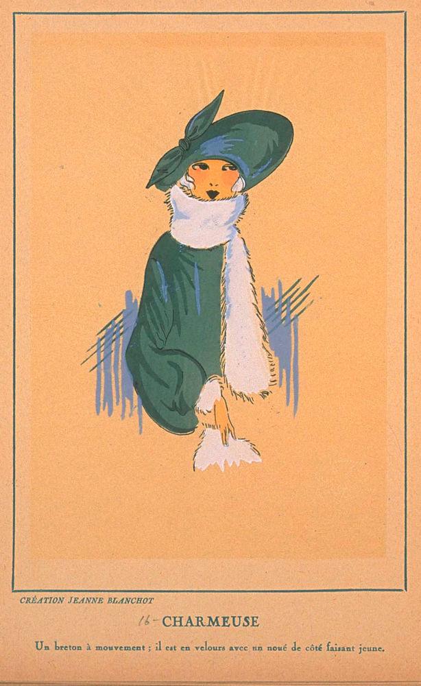 Ах, какие шляпки! Шляпная мода 1922 года по версии французского журнала «Les chapeaux du Tres parisien». Часть 2, фото № 37