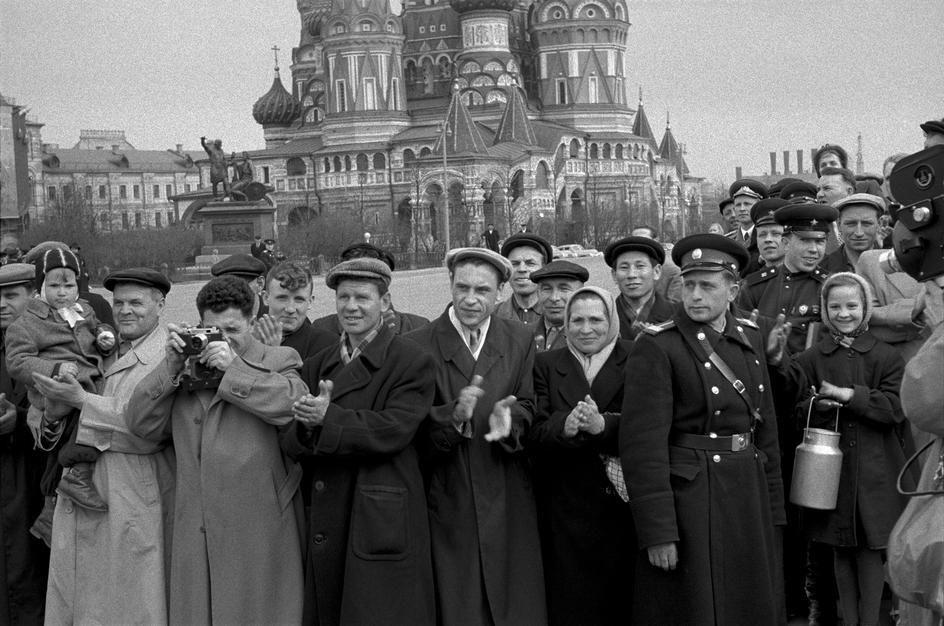 Lessing39 Москва 1958 года в фотографиях Эриха Лессинга