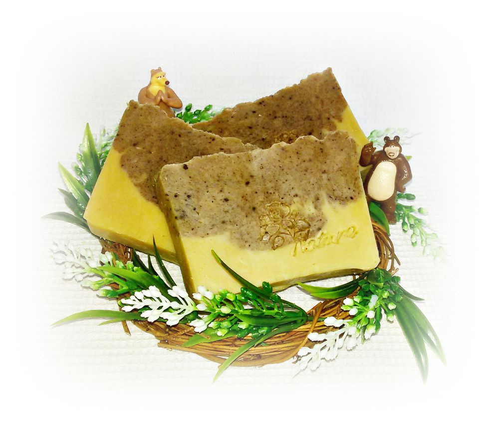 медовое мыло, мыло с медом, лемонграсс, натуральное мыло, без ароматизаторов