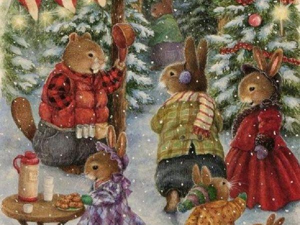 Сказки для хорошего рождественского настроения) | Ярмарка Мастеров - ручная работа, handmade