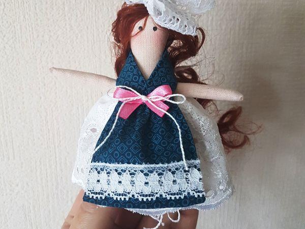 Шьём куколку для куклы   Ярмарка Мастеров - ручная работа, handmade