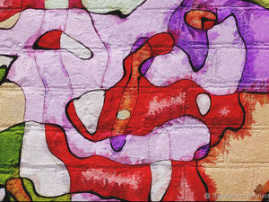 """Новая работа в магазине в стиле граффити """"В бездне Челленджера. Обитатели Марианской впадины."""". Ярмарка Мастеров - ручная работа, handmade."""