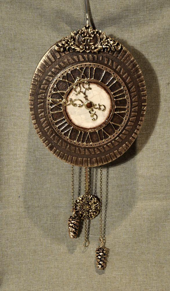 Создаем сказочные декоративные часы для большой елки, фото № 28