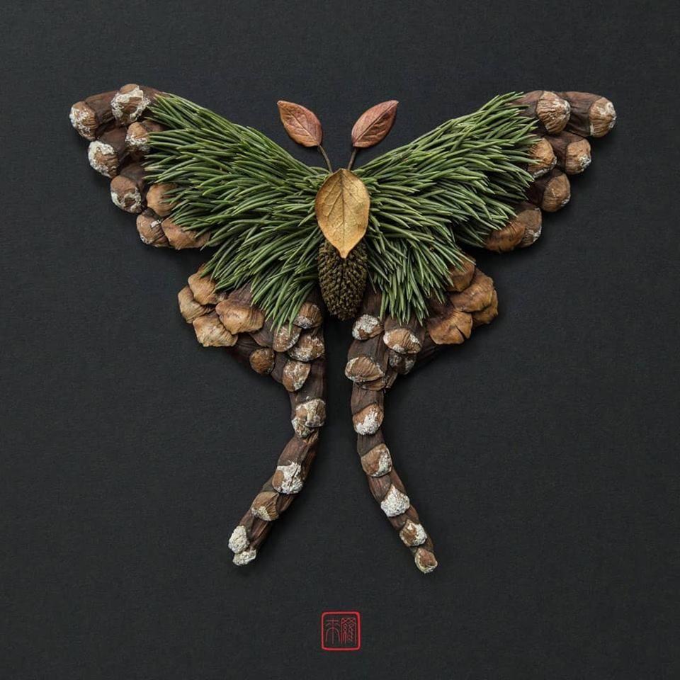Petal Magic: Unusual Compositions by Raku Inoue, фото № 3