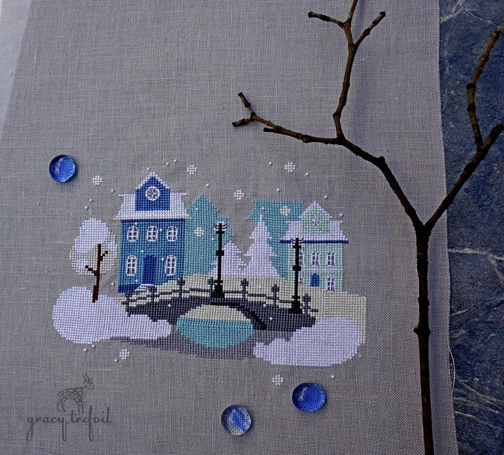 вышивка крестом дома