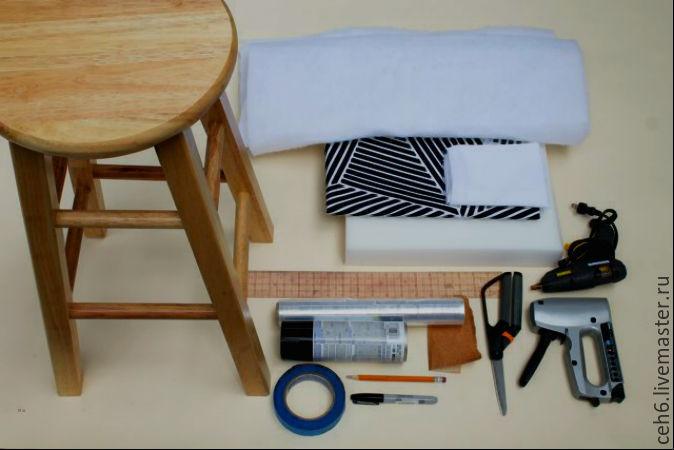 Как сделать мягкий стул
