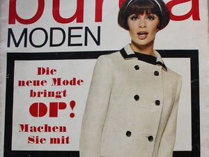 Burda moden 2/1966 Бурда Моден. Ярмарка Мастеров - ручная работа, handmade.