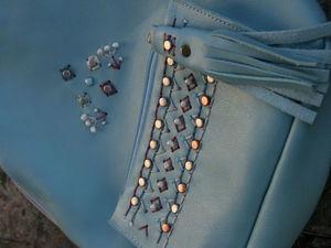 Кожаные рюкзаки с вышивкой 4000!. Ярмарка Мастеров - ручная работа, handmade.