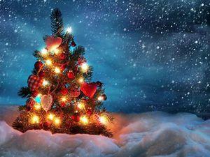 Волшебство новогодней ёлочки | Ярмарка Мастеров - ручная работа, handmade