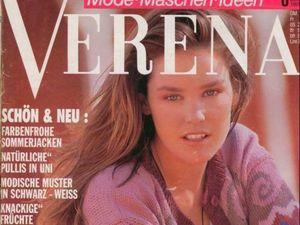 Verena № 6/1991. Содержание. Ярмарка Мастеров - ручная работа, handmade.