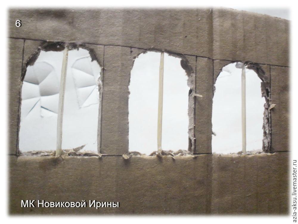 домик из гофрокартона