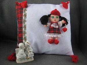 скидка 25 % на подушку-игрушку для девочки. Ярмарка Мастеров - ручная работа, handmade.