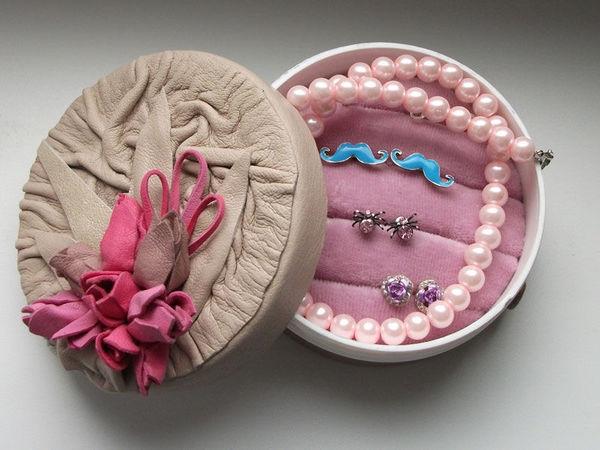 Мастер-класс по созданию шкатулки для хранения украшений | Ярмарка Мастеров - ручная работа, handmade