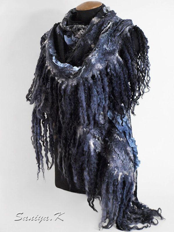 черная шаль