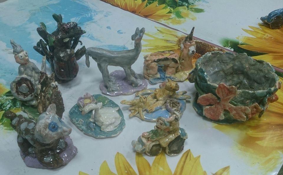 занятия для взрослых, терракота, керамика ручной работы