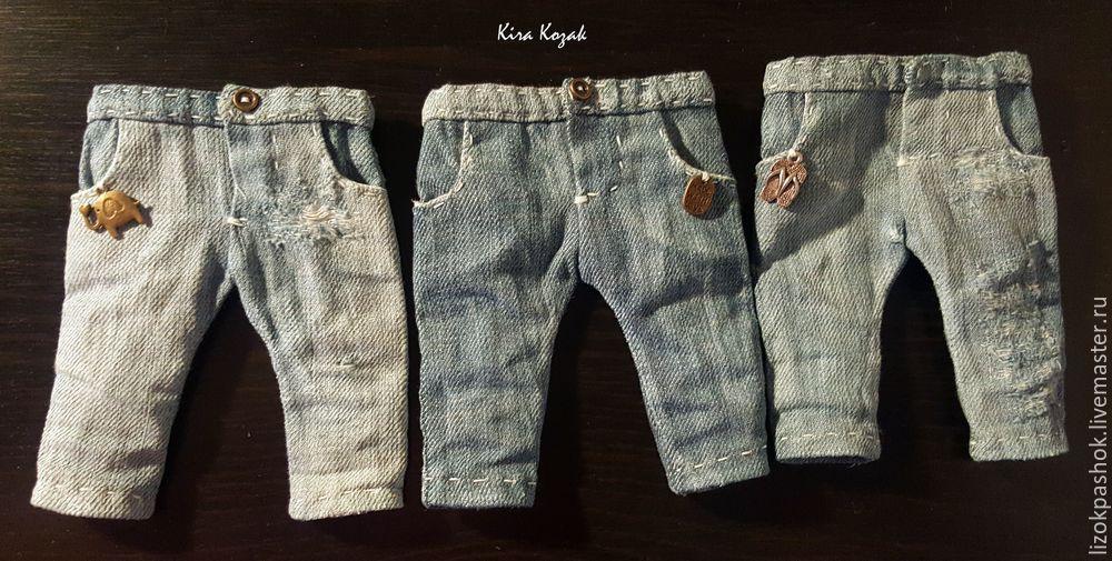 Шьем джинсы для куклы, фото № 15