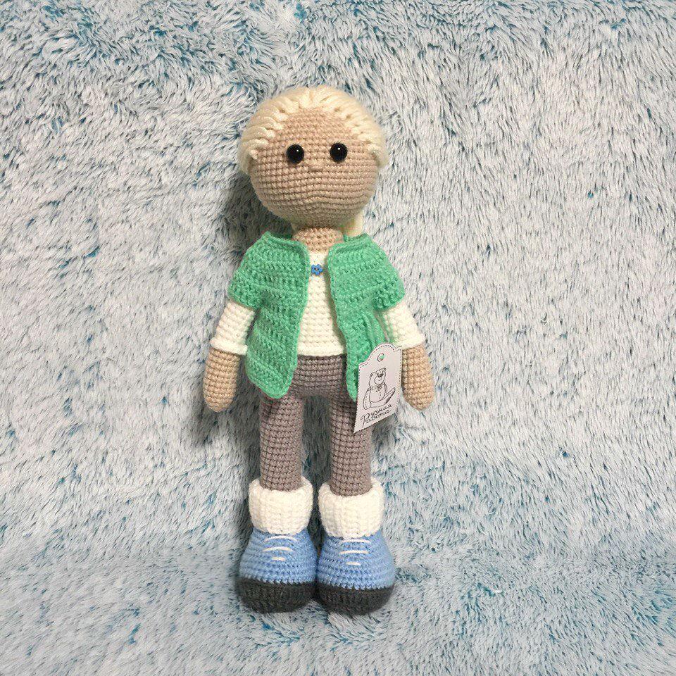 вязание, игрушка в подарок, качественная пряжа, радость для ребенка