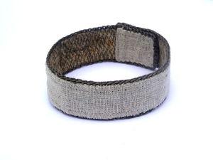 Мастер-класс: как сделать браслет из крапивных волокон своими руками. Ярмарка Мастеров - ручная работа, handmade.