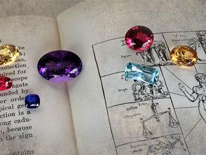 Драгоценные камни, знаки зодиака и влияние планет. Ярмарка Мастеров - ручная работа, handmade.