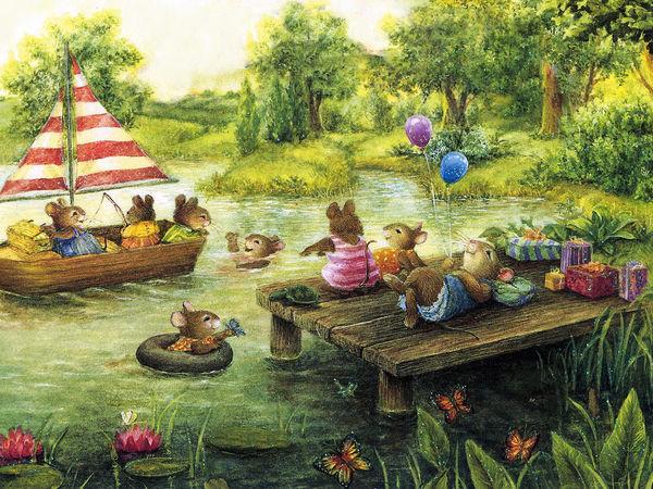 Большие приключения маленьких мышат в иллюстрациях любимых художниц