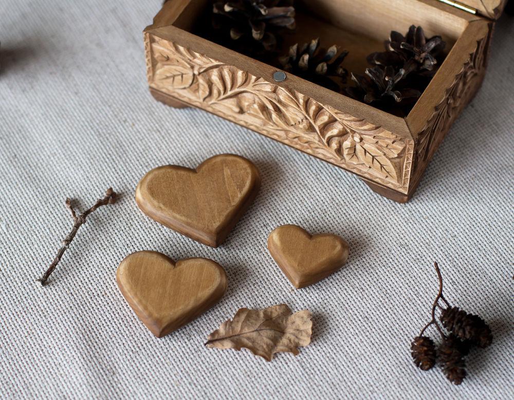 деревянна шкатулка