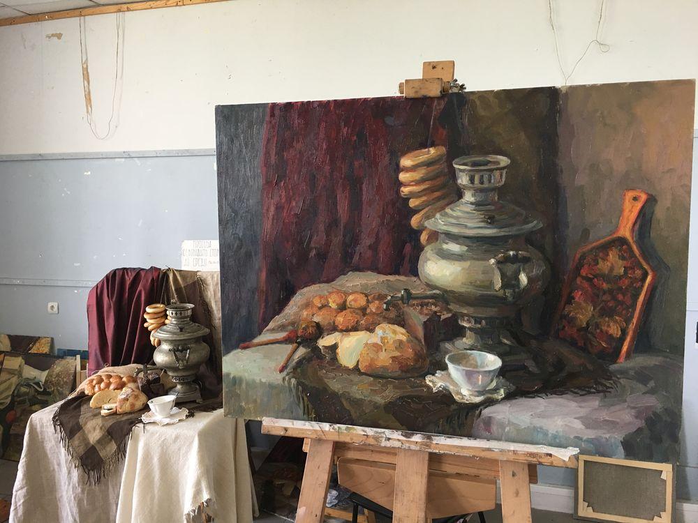 мастер-класс, живопись маслом