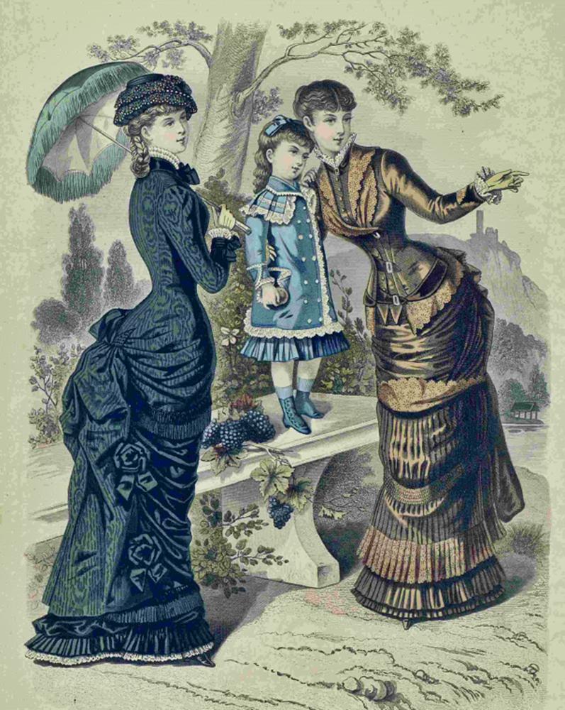 Восхитительная мода конца ХIХ века, фото № 25