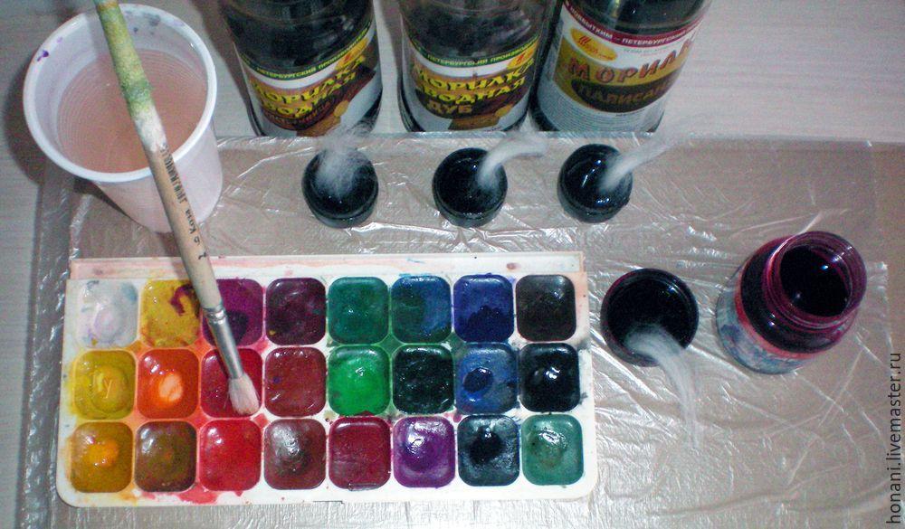 покрасить мех