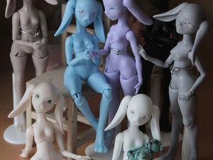 Новые заюшки в полиуретане. Заячья армия | Ярмарка Мастеров - ручная работа, handmade