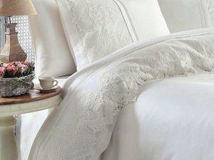 Пошив постельного белья с широким кружевом! Принимаем заказы!. Ярмарка Мастеров - ручная работа, handmade.
