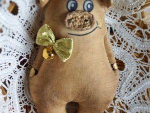 Счастливые свинки. Ярмарка Мастеров - ручная работа, handmade.