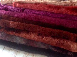Новый винтажный длинноворсный Плюш. Ярмарка Мастеров - ручная работа, handmade.