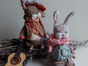 Совместный пошив зайчика! | Ярмарка Мастеров - ручная работа, handmade