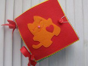 Развивающая книжка-искалка в наличии | Ярмарка Мастеров - ручная работа, handmade