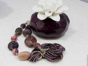 Скидка 30% на украшения из натуральных камней!. Ярмарка Мастеров - ручная работа, handmade.