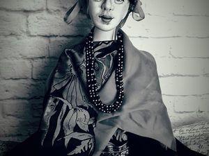 Кукла с портретным сходством.Фрида Кало. Ярмарка Мастеров - ручная работа, handmade.