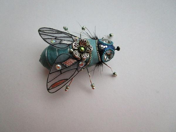 Как сделать крылышки насекомого из жидкой пластики | Ярмарка Мастеров - ручная работа, handmade