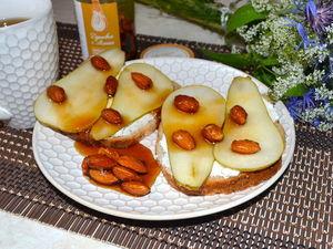 Рецепт завтрака с рикоттой, грушей и медом. Ярмарка Мастеров - ручная работа, handmade.