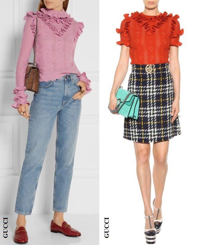 вязаная одежда, мода
