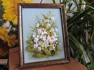 DIY Field of Daisies Painting. Livemaster - handmade