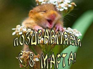 Поздравляю с праздником 8 Марта и дарю новые скидки!. Ярмарка Мастеров - ручная работа, handmade.